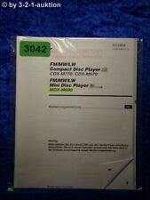Sony Bedienungsanleitung CDX M770 /M670 /M690 CD Player (#3042)