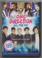 One Direction All for One DVD Limited Edition 2012 Harry Styles, Niall Horan