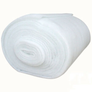 Polyester Wadding Roll 4oz Quilting Upholstery Crafts Padding 27 & 54 Inch Wide