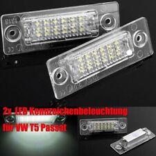 2LED Kennzeichenbeleuchtung für VW T5 Passat 3CB6 Caddy Touran Golf Plus CANBUS