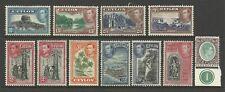 CEYLON KGV1 1938-49 WITH THE HIGH VALUES MINT