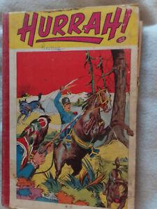 album relié de l'hebdomadaire HURRAH n° 17 du 163 au 172 (1956 -1957)