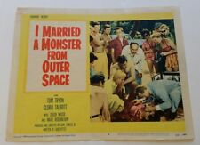 I MARRIED A MONSTER FROM OUTER SPACE 1958 Original Sci-Fi Movie Lobby Card Horro