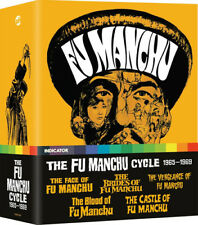 The Fu Manchu Cycle 1965-1969 Blu-ray (2020) Christopher Lee, Sharp (DIR) cert