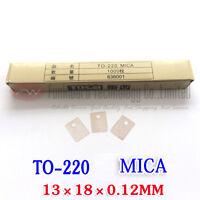 TO220 TO-220 Power Transistor MICA Insulator Stiff Transparent x 1000pcs