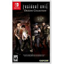 Resident Evil Origins Collection Nintendo Switch  New ready to ship