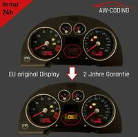 Audi TT 8N FIS 1/2 Display MFA Pixelfehler Reparatur Tacho Kombiinstrument