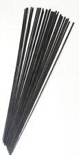 Black Fibreglass stems (Pole float making materials & supplies)