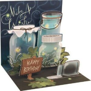 Lightening Bugs  -  3D Pop-up Card by Up With Paper
