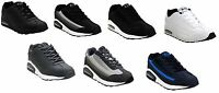 NEW MENS RUNNING JOGGING SHOCK ABSORBING GYM SPORT CASUAL TRAINERS SHOES UK 7-12