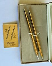 Vintage Bradley Pen and Pencil Set in Box, Beautiful
