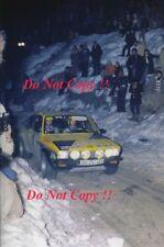 Walter Rohrl OPEL KADETT GT/E MONTE CARLO RALLY 1976 fotografia 1