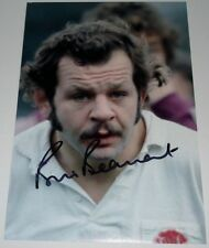 BILL BEAUMONT ENGLAND  RUGBY HAND SIGNED AUTOGRAPH 12X8 PHOTO