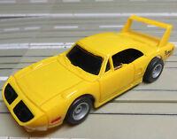 für H0 Slotcar Racing Modellbahn -- Plymouth mit Tyco Motor