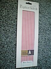 Brand New & Sealed 'Red Stripes' Deco Patch Sheets Pack