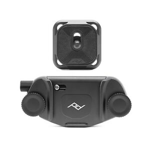 Peak Design Capture V3 Camera Clip with Standard Plate CP-BK-3 - Black NEW 2017