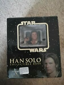 Star Wars Gentle Giant Han Solo Collectable Mini Bust