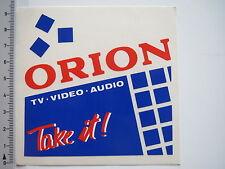 Autocollant sticker Orion-tv-vidéo-audio - take it (7241)