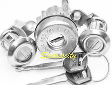 IGNITION BARREL 2 DOOR LOCK SET TOYOTA LANDCRUISER HZJ 75 SERIES 8/91-97