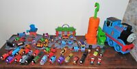 Huge Bundle Thomas The Tank Engine Take N Play Train Sets Storage Case Many More