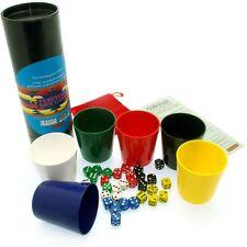 Perudo / Dudo / Peruvian Dice Game. The original Liars dice game. 6 player