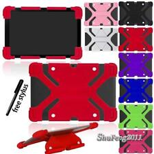 """Universal Shockproof Silicone Stand Cover Case Fit Various 9"""" 10"""" Tablet +Stylus"""