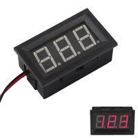 DC 4.5-30V Red LED Car Digital Display Voltage Volt Meter Panel Gauge HY Sales