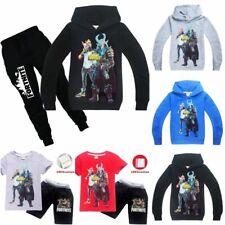 Children Costume Casual T shirt Hoodie Sweatshirt+Pants Outfit Pyjamas