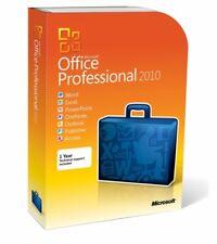 Microsoft Office Professional 2010 Retail-Box