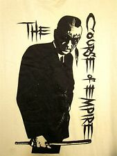 COURSE OF EMPIRE punk band Dallas tee XL beat-up Texas T shirt 1990 industrial