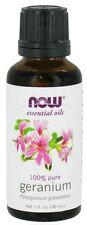 NOW FOODS Geranium (100% Pure), 1 oz - Essential Fragrance Oils
