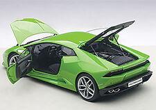 1:18 Autoart Lamborghini Huracán Huracán LP610-4 VERDE MANTIS / métallique Pearl