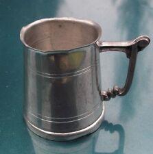 English Pewter Miniature Beer Stein