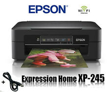 EPSON XP-245 MULTIFUNKTIONS DRUCKER SCANNER KOPIERER WIFI WLAN IPRINT * NEU *
