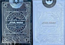 Theory11 Star Wars Combo 2 Decks Playing Cards The Light Dark Side Silver Poker