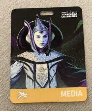 Star Wars Celebration Chicago SWCC 2019 Queen Padme Amidala Badge Pass Portman