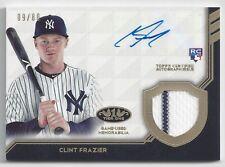 2018 Topps Tier One #AT1R-CF Clint Frazier RC Auto Jersey Relic #'d 09/80