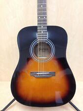 4/4 Dreadnought Acoustic Guitar,Tobacco Sunburst + Free Gig Bag-Blemished