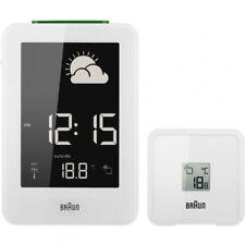 Réveils et radios-réveils blancs station météo pour la maison