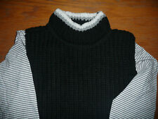 BNWT 'Next' Girls Black Jumper & Long Sleeved Top Set/ Age 10/ Ideal Gift