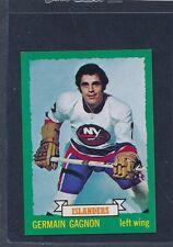 1973/74 OPC O-Pee-Chee CB #161 Germain Gagnon Islanders NM-MT+ 73OPC161-111815-2