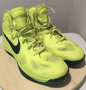 NIKE Hyperfuse 2012 Olympics Volt Green 13US RARE - GREAT CONDITION 525022-700