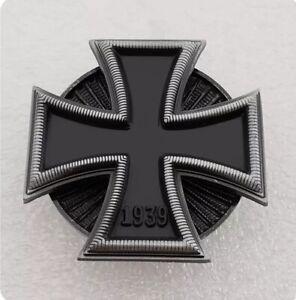 1939 German Medal Order of Iron Cross 1st Class, Brooch Badge Pin Replica