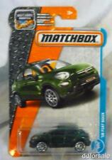 2016 Fiat 500X 1/64 Scale Die-cast Model From Matchbox
