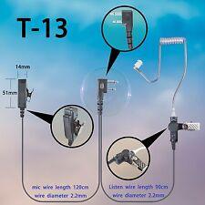 2-wire Surveillance Earphone For Icom IC-F-1000D IC-F2000D IC-F12 walkie talkie