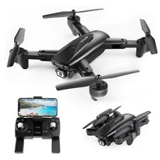 Drone SNAPTAIN SP500 1080P, 2 batterie, GPS Telecamera FHD, Trasmissione WiFi 5G