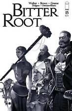 Bitter Root #15 Variant - Seven Samurai Homage Cvr (Nm) 2021 Image Comics Greene