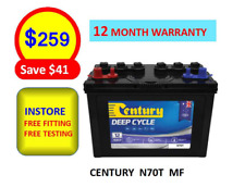 N70T Century Car Battery Deep Cycle