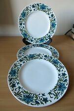 More details for 3 x midwinter spanish garden dinner plates jessie tate good cond