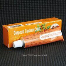 Capsicum Cream Compound Organic 25 g Relieves Muscular Pain